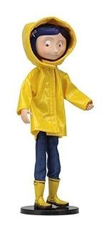 Muñeca Coraline Bendy En Capa De Lluvia!