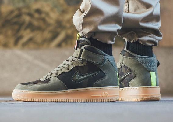 Zapatillas Nike Air Force 1 Mid Jewell Verde Talla 41 adidas