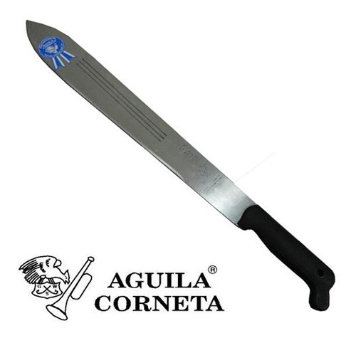 Machete Tres Canales Pulido 18pg 721 Aguila Corneta    *