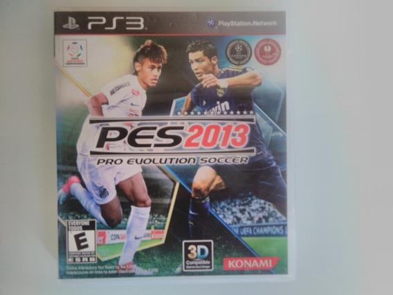 Pro Evolution Soccer 2013 Pes Ps3 Original Mídia Física