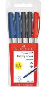 Caneta Esferografica Faber-castell Trilux 5 Un 032/office