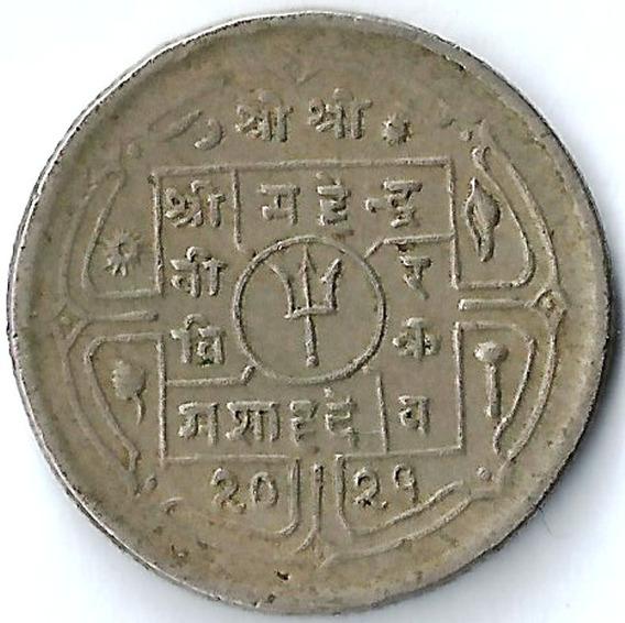 Nepal 1972 ( Año 2029 ) 25 Paisa L16719