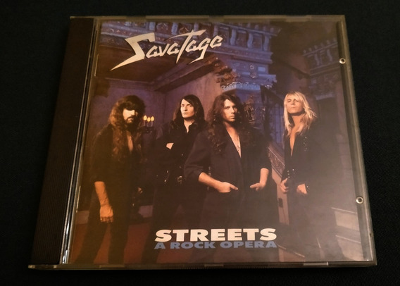 Savatage - Streets A Rock Opera (europeo Excelente Estado)
