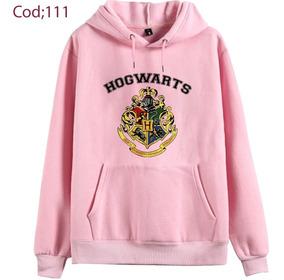 Blusa Moletom Rosa Bebe Harry Potter Varias Estampa 2018 !!