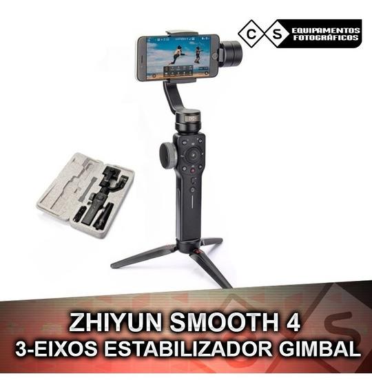 Zhiyun Smooth 4 3-eixos Estabilizador Gimbal Para Smartphone