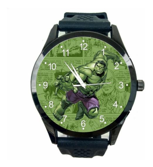 Relogio Personalizado Incrivel Hulk Feminino Vingador T1406