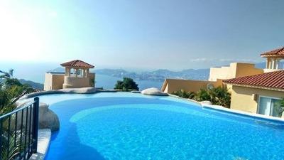 Casa En Condominio Acapulco, Los Celajes ¡excelente Vista!