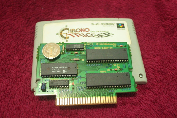 Jogo Chrono Trigger Original Super Nintendo Frete Gratis Cr