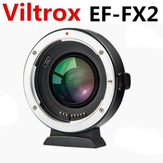 Viltrox Ef-fx2 - Speedbooster Fuji Para Lente Canon Ef