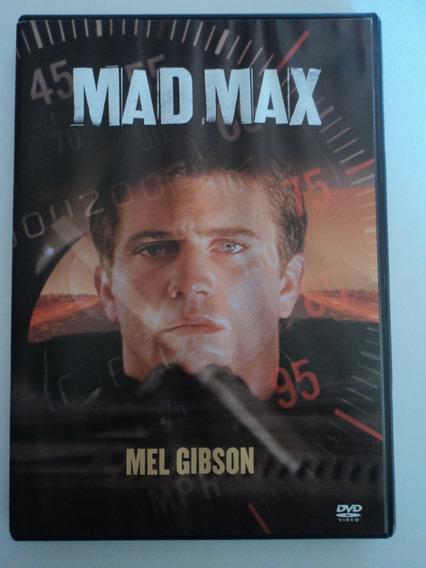 Dvd-mad Max-mel Gibson:original,dublado:único Dono:perfeito