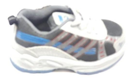 Zapatillas Deportivas Gris Niños Tridy Cordón Número 22 Ofer