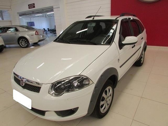 Fiat Palio Weekend Trekking 1.6 Branca Flex 4p Manual 2014