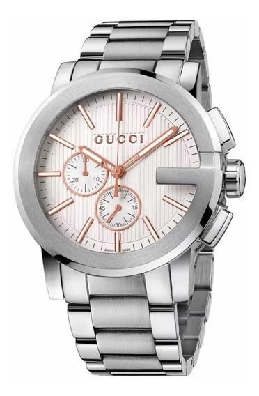 Reloj Gucci 100% Nuevo Y Original Para Caballero Ya101201