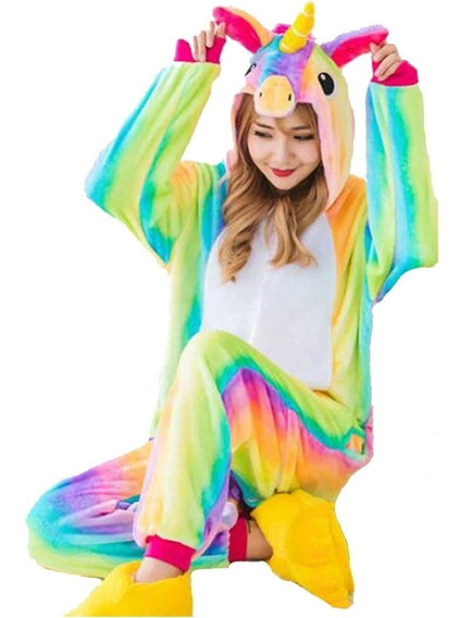 Pijama Unicornio Arcoiris Y Envío Gratis!