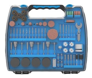 Set Kit Accesorio Mini Torno Gamma Juego 220 Piezas Maletin