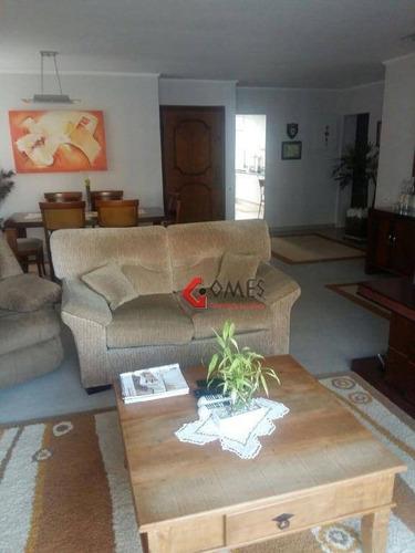 Apartamento Com 3 Dormitórios À Venda, 144 M² Por R$ 660.000,00 - Vila Bastos - Santo André/sp - Ap2102