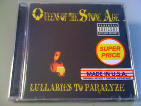 Queens Of The Stone Age Lullabies To Cd Lacrado U.s.a Import