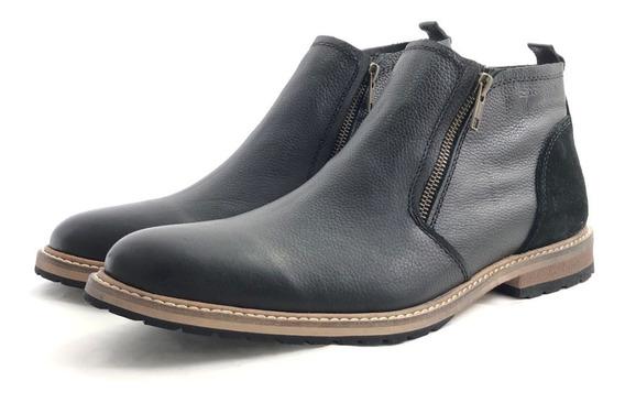 Bota Hombre Cuero Zurich 5805 El Mercado De Zapatos!