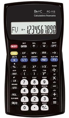 Calculadora Financeira Brtc Fc-113 Original Lacrado Barato