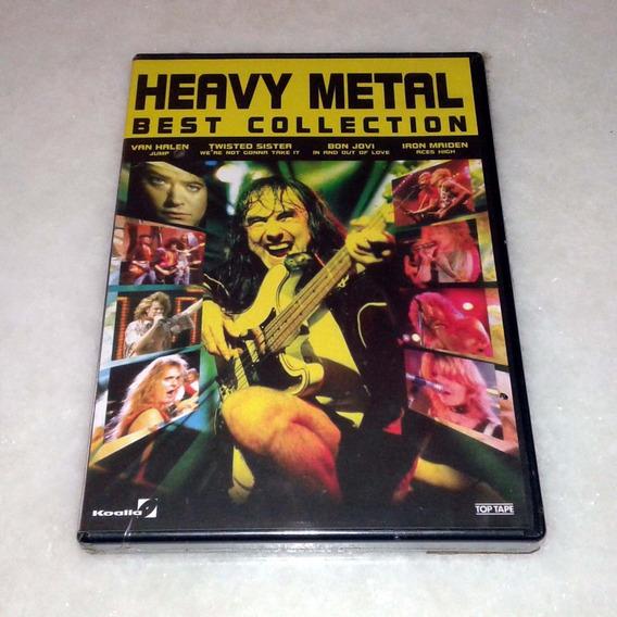 Dvd Heavy Metal Best Collection - Novo Selado Nacional Raro