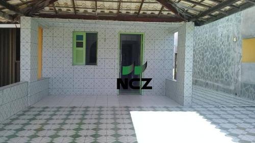 Casa Com 3 Dormitórios À Venda, 120 M² Por R$ 260.000,00 - Barra Do Jacuípe - Camaçari/ba - Ca3418