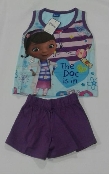 Pijama Nena De Verano Disney Dra. Juguete Y Princesa Sofia
