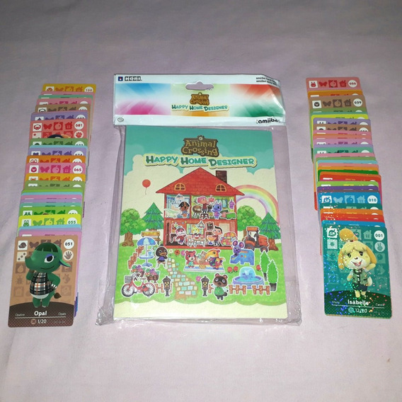 Animal Crossing Amiibo Cards Series 1 Set Completo 001-100