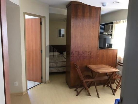 06343 - Flat 1 Dorm, Brooklin Novo - São Paulo/sp - 6343