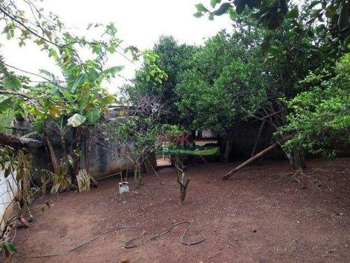 Imagem 1 de 5 de Chácara Com 1 Dormitório À Venda, 1200 M² Por R$ 210.000,00 - Jardim Santa Maria - São José Dos Campos/sp - Ch0731