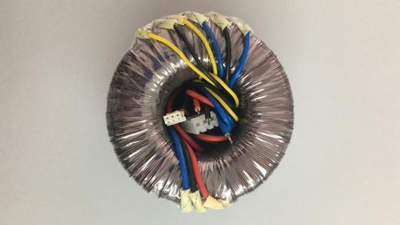 Transformador 26-0-26v, 14-0-14v 6a Caixa Vicini Vc7160 Novo
