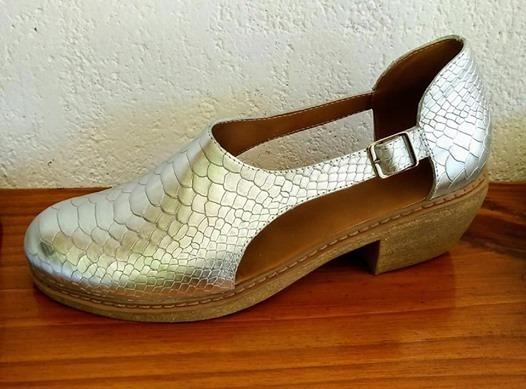Zapatos Botas De Cuero Vacuno