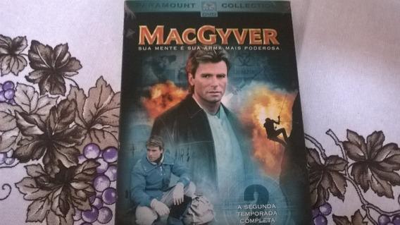 Macgyver Segunda Temporada Box Dvd Original