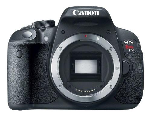 Canon EOS Rebel T5i DSLR cor preto