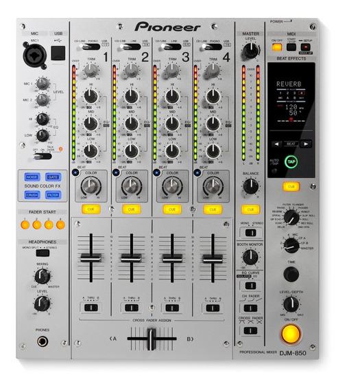Mixer Djm 850 Pioneer Novo Original C/ Nota Fiscal Garantia
