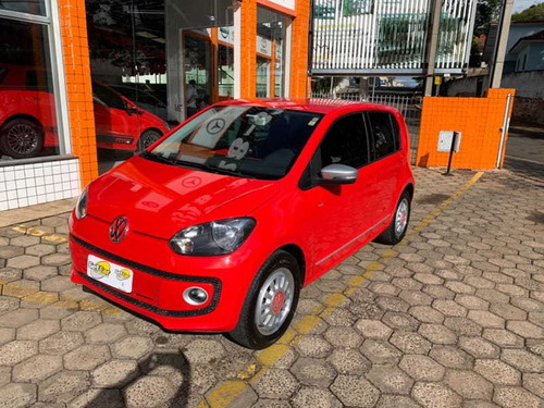 Volkswagen Up Black/white/red Total Flex 1.0 5p