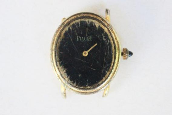 Antigo Relógio De Pulso Piaget - Para Retirada De Peças