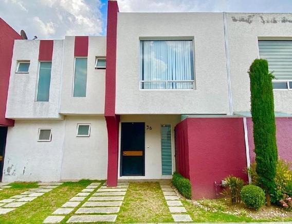 Casa En Renta Amueblada En Toluca.