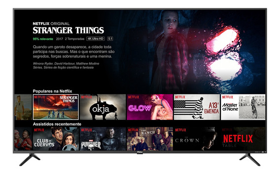 Smart Tv Philco 4k 65 Ptv65f80sns - Netflix