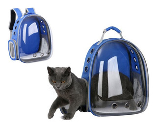 Maleta Portátil Para Mascota - Astronauta Cápsula Gato Perro