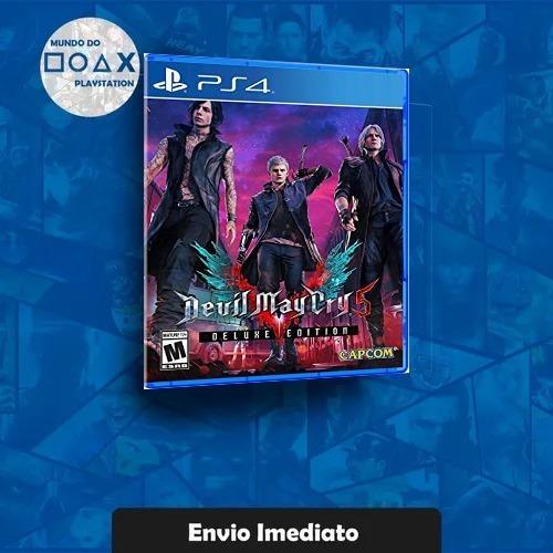 Devil May Cry 5 Deluxe Edition Ps4 Português Envio Agora