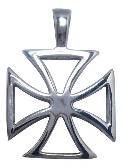Cruz De Malta Plata 925