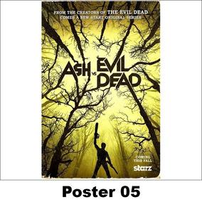 Poster/adesivo Série 30x40 Ash Vs. Evil Dead (05)