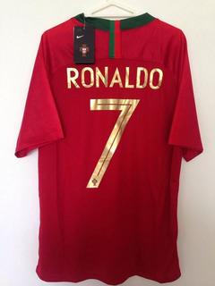 Camisa Nike Copa 2018 7 Cristiano Ronaldo Original Estoque