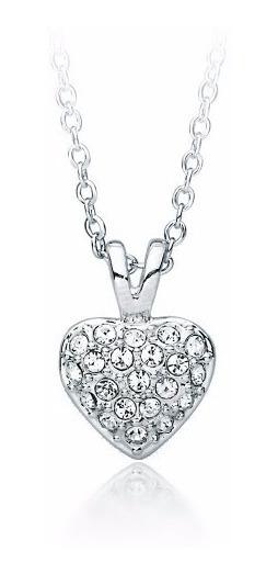 Collar Con Corazón Cristales Swarovski