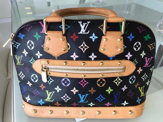 Bolsa Original Louis Vuitton Alma Multicolore