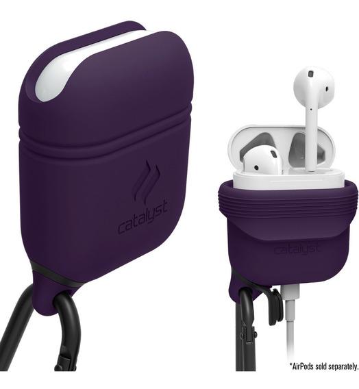 Funda Silicona Catalyst Apple AirPods Waterproof Purple