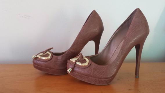 Sapato Meia Pata Alto Di Cristalli
