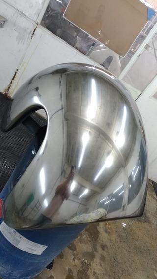 Tinta Cromo Brilhante Automotiva Moto - Promoção