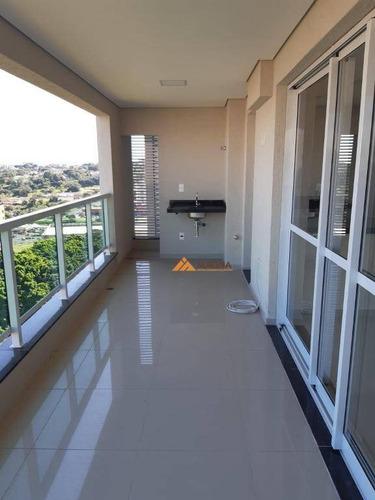 Imagem 1 de 30 de Apartamento Para Alugar, 115 M² Por R$ 3.000,00/mês - Jardim Botânico - Ribeirão Preto/sp - Ap4509
