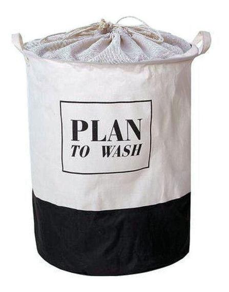 Laundry Cesto Tela Dura Para Ropa Sucia Con Tapa Plan
